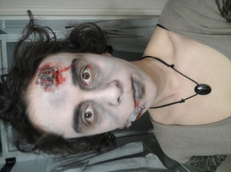 Zombie 2 - blessures FX + sang